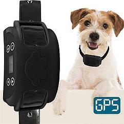 GPS электронный забор для собак - электроошейник Dog Fence EF851V, радиус 20 – 800 метров, воздействие