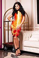Яркое платье Инди F8 ТМ Медини 42-44 размер