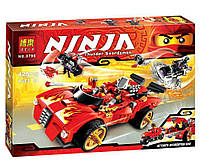 Конструктор машина Ниндзя-перехватчик Х-1 Ninjago Bela
