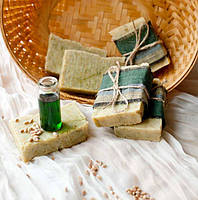 """Лечебное  мыло """"ПШЕНИЧНОЕ"""" на свежих ростках пшеницы"""