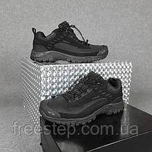 Чоловічі зимові кросівки Salomon soft shell dry чорні