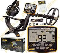 Металлоискатель Garrett ACE Apex с катушкой Viper 6 x11 (15 х 28 см) и беспроводными наушниками MS3
