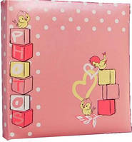 Детский фотоальбом EVG  на 100 фото 10x15 Baby розовый