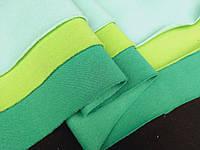 Зеленый. Трехнитка на флисе , ширина 1,8 м ; 250 г/м², фото 1