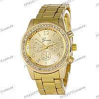 Часы женские наручные Geneva Brilliant 114 All Gold