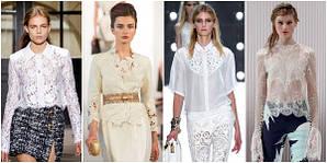 Самые модные женские блузы 2016
