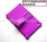 Сиреневый чехол на силиконе для девушки Lenovo Tab K10 (tb-x6c6) Ivanaks Tpu Purple, фото 2