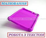 Сиреневый чехол на силиконе для девушки Lenovo Tab K10 (tb-x6c6) Ivanaks Tpu Purple, фото 8
