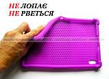 Сиреневый чехол на силиконе для девушки Lenovo Tab K10 (tb-x6c6) Ivanaks Tpu Purple, фото 3