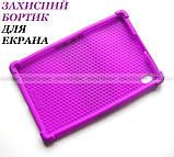 Сиреневый чехол на силиконе для девушки Lenovo Tab K10 (tb-x6c6) Ivanaks Tpu Purple, фото 9
