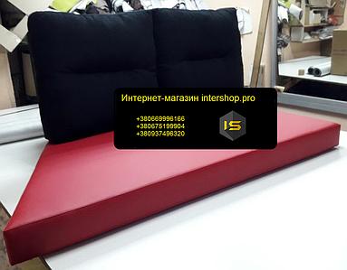 Матрац і подушки холлофайбер для палет 1200х600мм Int