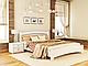 Кровать из дерева Венеция Люкс ( из массива ), фото 6