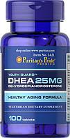 Puritan's Pride Дигидроэпиандростерон ДХЕА DHEA 25 mg (100 tab)