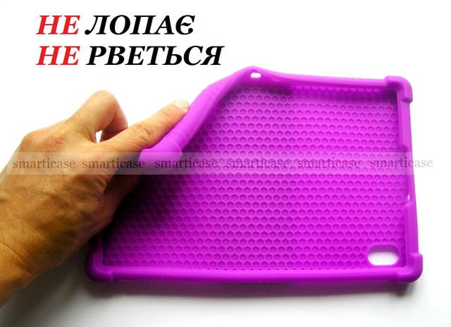 фиолетовый силиконовый чехол Lenovo tab k10