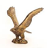 Старая скульптура, орел, латунь, Германия, фото 2