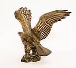 Старая скульптура, орел, латунь, Германия, фото 7