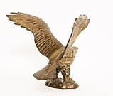 Старая скульптура, орел, латунь, Германия, фото 6