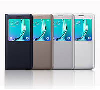 "Samsung G928 EDGE+ PLUS Оригинальный SMART S VIEW COVER чехол книжка НАТУР. КОЖА "" SHIMILE"""