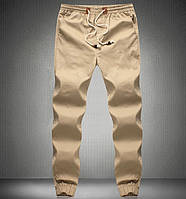Мужские спортивные летние  штаны  беж