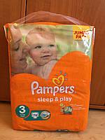 Подгузники Pampers Sleep & Play - 3 Midi (4 - 9 кг.) 78 шт. (Jumbo Pack)