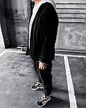 Спортивний костюм Чоловічий спортивний костюм чорний / чоловічий спортивний костюм чорний на холодну осінь, фото 2