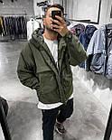 😜 Куртка - Мужская куртка хаки на холодную осень / чоловіча куртка хакі на холодну осінь, фото 2