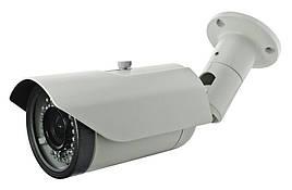Видеокамера VLC-8192WFC CVI, 2Mp, уличная, цилиндрическая, с ИК-подсветкой до 40 м.