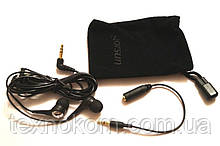 Навушники Gorsun GS-А72 вакуумні, чохол і перехідник 2,5