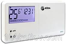 Термостат кімнатний недільне програмування (каб) Roda RTW7