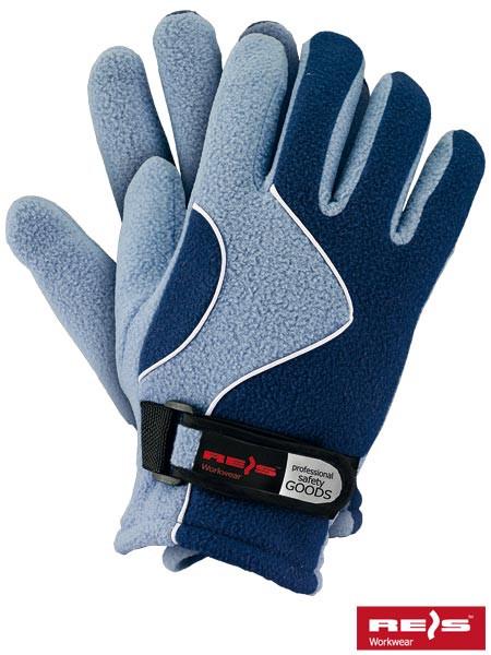 Перчатки защитные утепленные из флиса RPOLTRIAN NJN