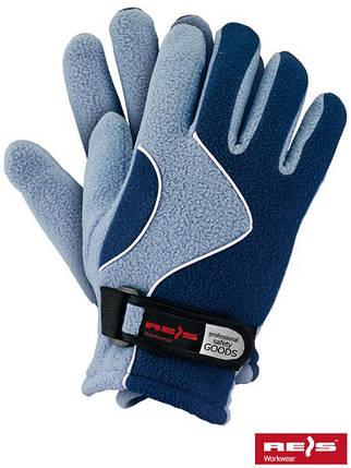 Перчатки защитные утепленные из флиса RPOLTRIAN NJN, фото 2