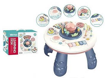 Детский игровой центр-столик Игровой столик с пианино и шестеренками Центр детский с пальчиковым лабиринтом