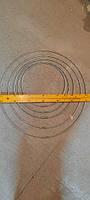 Кольца из оцинкованной проволоки с креплением под зажим
