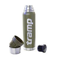 Американский стальной термос с пожизненной гарантией Tramp TRC-029-olive 1,6 л