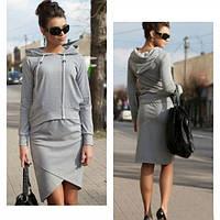 Женский спортивный костюм (кофта + юбка) CC5136