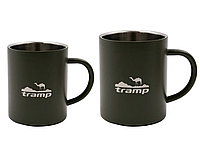 Термокружка 300 мл олива Tramp TRC-009