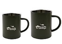 Термокружка 400 мл олива Tramp TRC-010