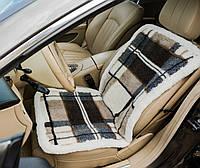 Защитная накидка на сиденье меховая, накидка на автомобильное сиденье, чехол на сиденья универсальный