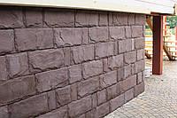 Плитка рваный камень цокольная