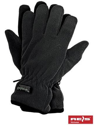 Защитные перчатки трикотажные, утепленные вкладкой Thinsulate RTHINSULPOL B, фото 2