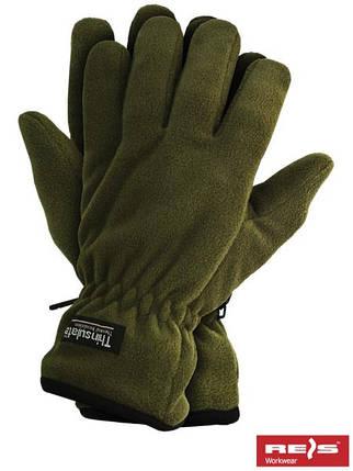Защитные перчатки трикотажные, утепленные вкладкой Thinsulate RTHINSULPOL O, фото 2