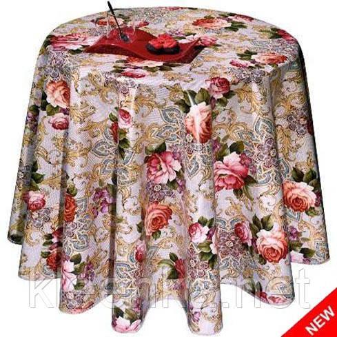 Клеенка розы на кухонный стол Новинка