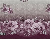 Cкатерть на стол в сиреневом цвете