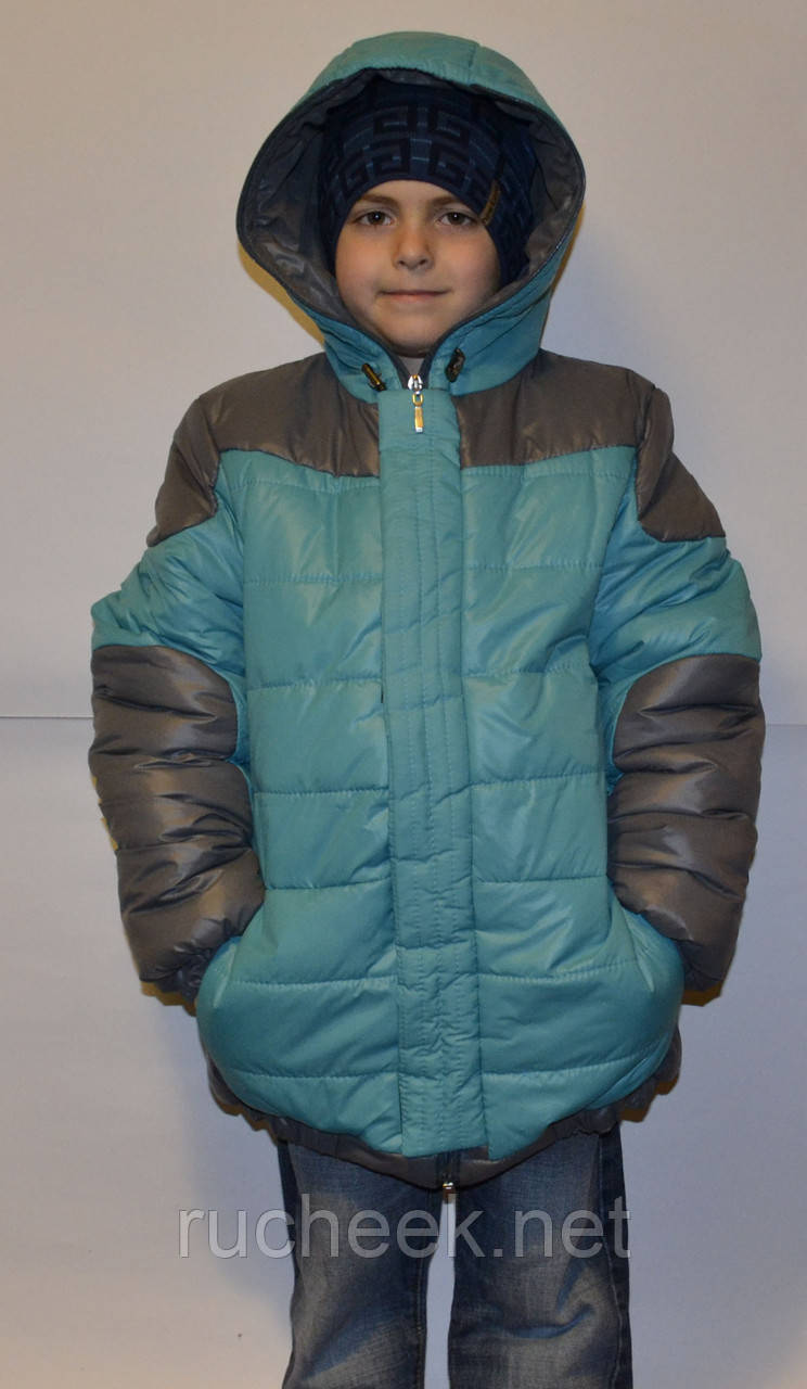 Зимняя куртка для мальчика рост 134, 140,  ТМ Одягайко