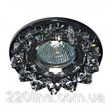 Точкові світильники з декоративного скла