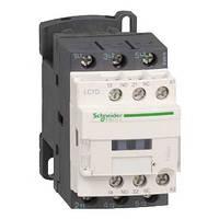 LC1D09B7 Контактор Schneider Electric 3Р, 9A, 4кВт/400VAC, 1NO+1NC, 24VAC 50Гц