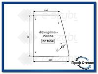Стекло экскаватор-погрузчик Hitachi B95 B100 B110B B200B FB100.2 FB110.2 FB200.2- Верхняя дверь(левая, правая)