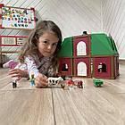 Набор для деревянной железной дороги Ферма Farme PlayTive 75 эл Германия, фото 6