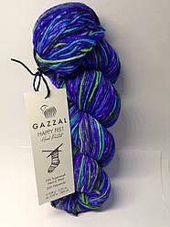 Пряжа для в'язання шкарпеткова Happy feet Gazzal (75% шерсть)