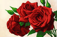 """Картина под вышивку бисером """"Королевские розы"""""""